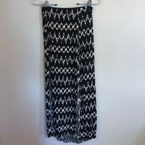 Maxi Patterned Skirt